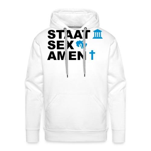 Staatsexamen / Staat Sex Amen - Männer Premium Hoodie