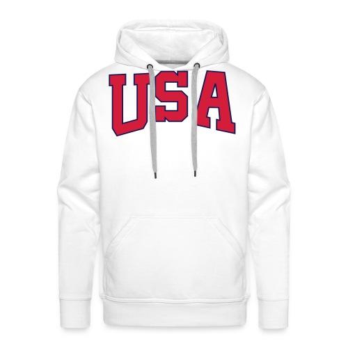 USA - Men's Premium Hoodie