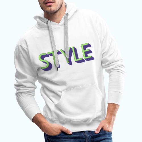 Style - Men's Premium Hoodie