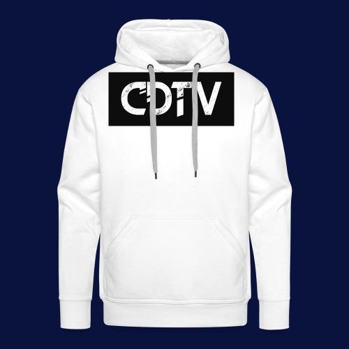 CDTV Box Logo - Men's Premium Hoodie