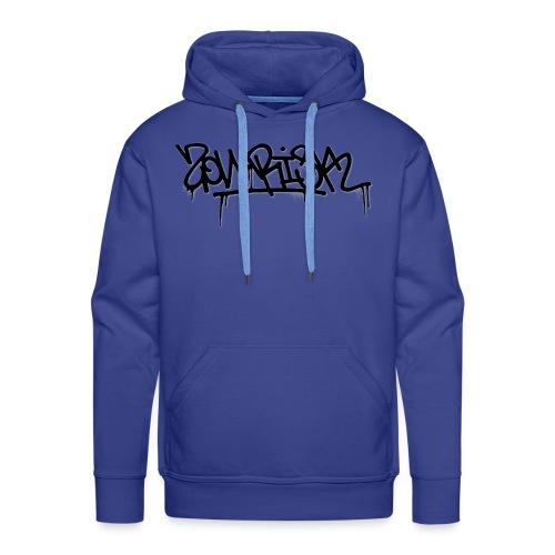 Zonarisk Logo Noir - Sweat-shirt à capuche Premium pour hommes