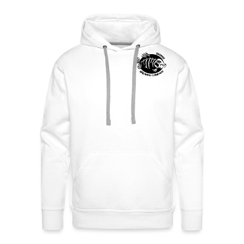 Double logo double - Sweat-shirt à capuche Premium pour hommes