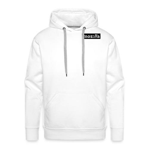 mozilla logo - Men's Premium Hoodie