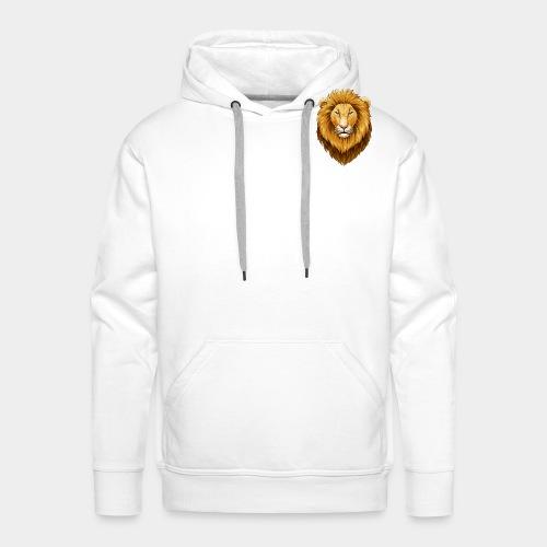 Le lion - Sweat-shirt à capuche Premium pour hommes
