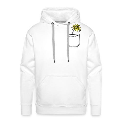 Yellow flower - Männer Premium Hoodie