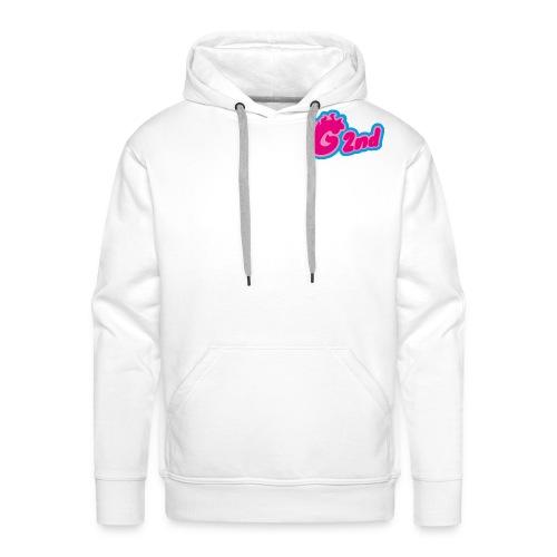 G2nd rose - Sweat-shirt à capuche Premium pour hommes