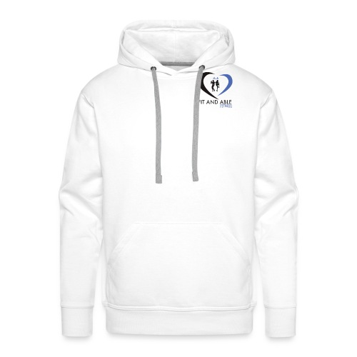 Fit and Able Fitness Logo - Men's Premium Hoodie