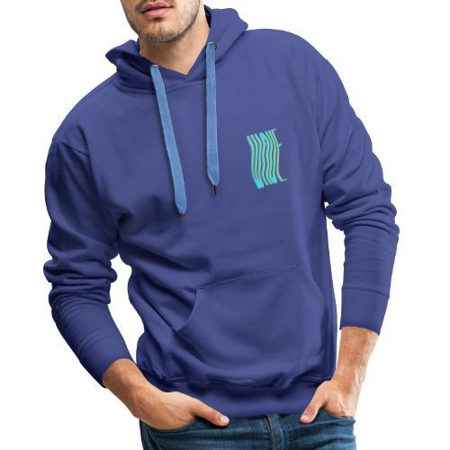 WAVE - Sweat-shirt à capuche Premium pour hommes