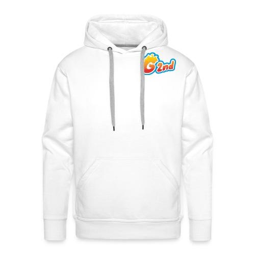 G2nd - Sweat-shirt à capuche Premium pour hommes