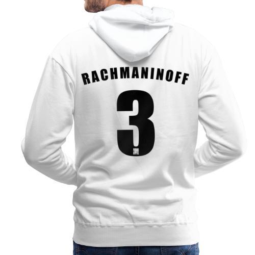 Rachmaninoff 3 Trikot - Men's Premium Hoodie