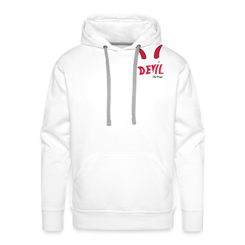 Collection devil by oméga - Sweat-shirt à capuche Premium pour hommes