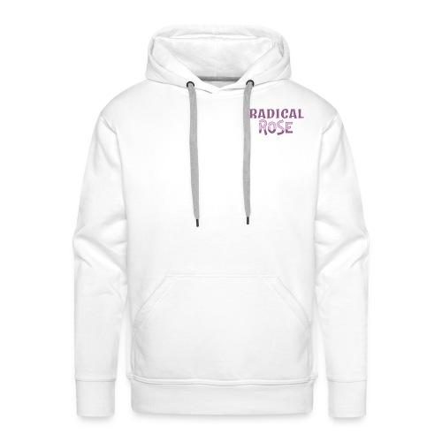 RADICAL rose logo - Men's Premium Hoodie
