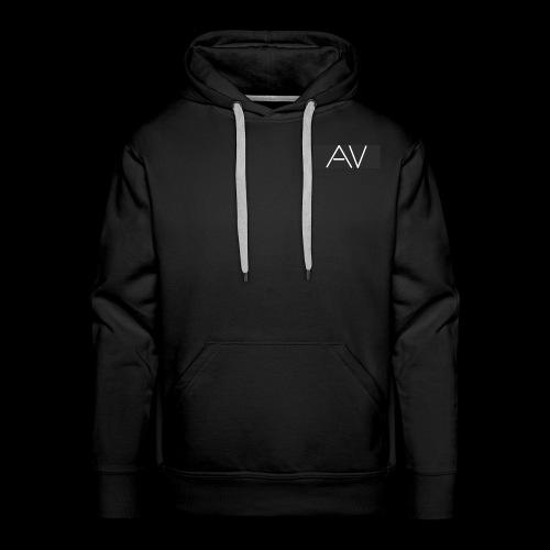 AV White - Men's Premium Hoodie