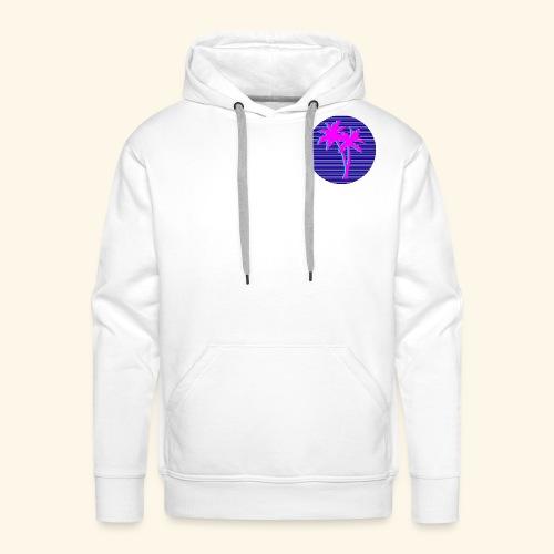 Florida palmtree - Sweat-shirt à capuche Premium pour hommes