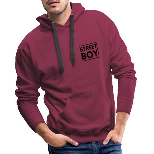 street boy - Sweat-shirt à capuche Premium pour hommes