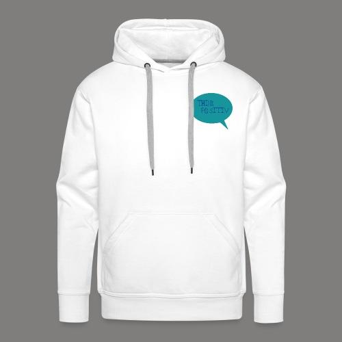 THINK POSITIV 3 - Sweat-shirt à capuche Premium pour hommes