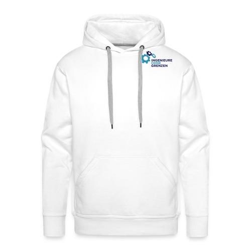 logo v1 aufweiss cmyk - Männer Premium Hoodie