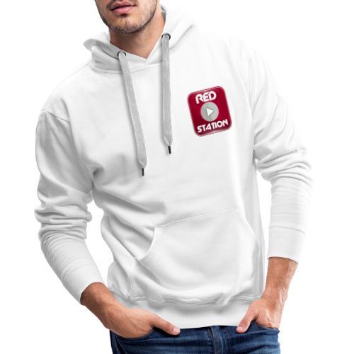 RED Station - Sweat-shirt à capuche Premium pour hommes