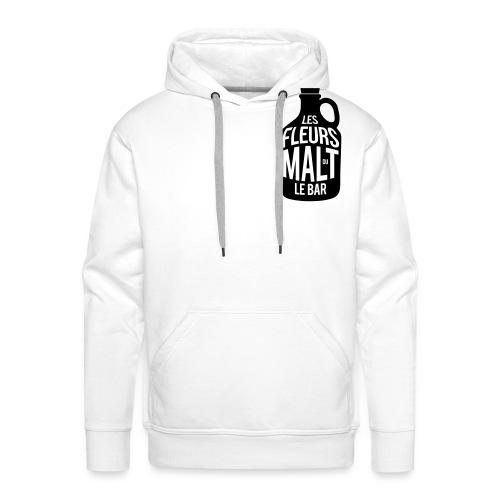Les Fleurs du Malt le Bar - Sweat-shirt à capuche Premium pour hommes