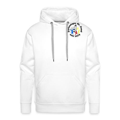 Logo Gif schwarz farbig 120dpi 2000px - Männer Premium Hoodie