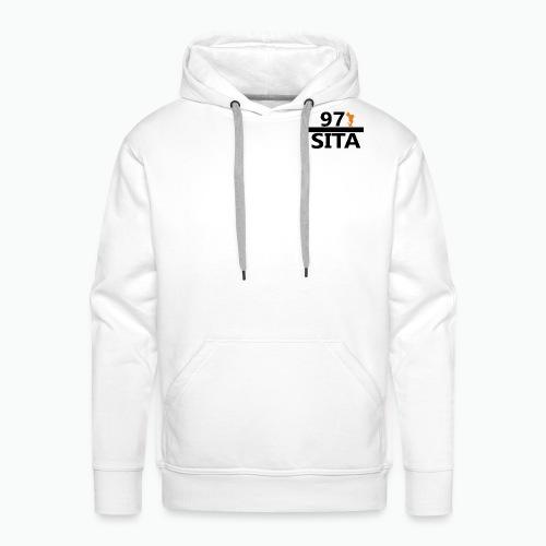Sweat manche longue 97-Sita - Sweat-shirt à capuche Premium pour hommes