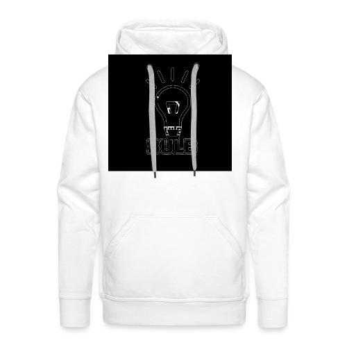 bulb button - Mannen Premium hoodie