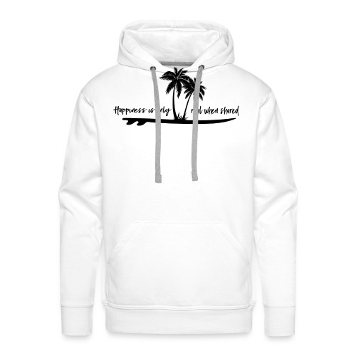 Eighty Seven Happiness - Männer Premium Hoodie