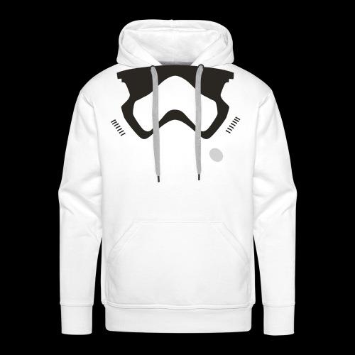 Modern Stormtrooper Face - Men's Premium Hoodie