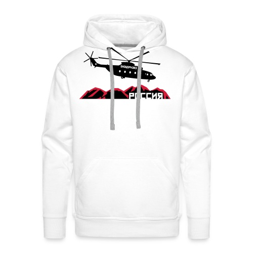 Russian Chopper Helidrop - Men's Premium Hoodie