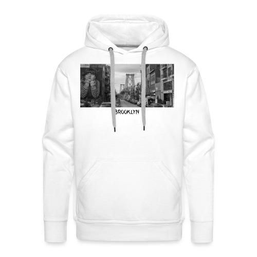 Brooklyn Casual Design - Männer Premium Hoodie