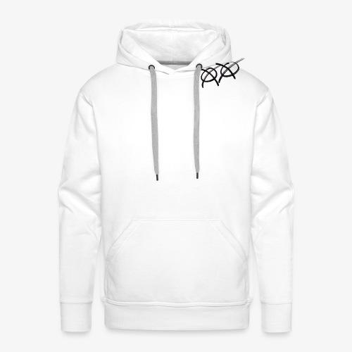 Drawed Sheep - Sweat-shirt à capuche Premium pour hommes