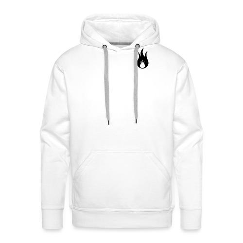 fuego - Sweat-shirt à capuche Premium pour hommes