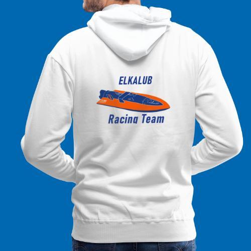 boot RacingT blau - Männer Premium Hoodie