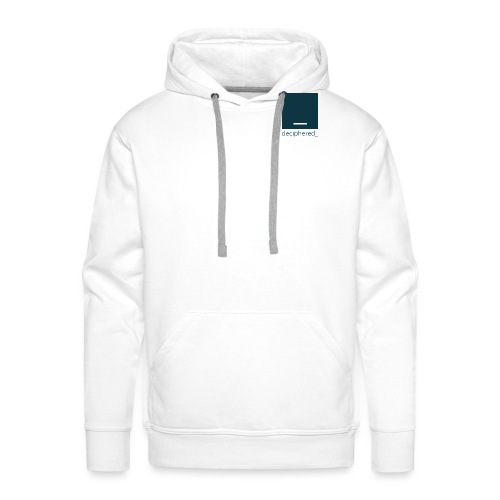 Deciphered Swag - Men's Premium Hoodie