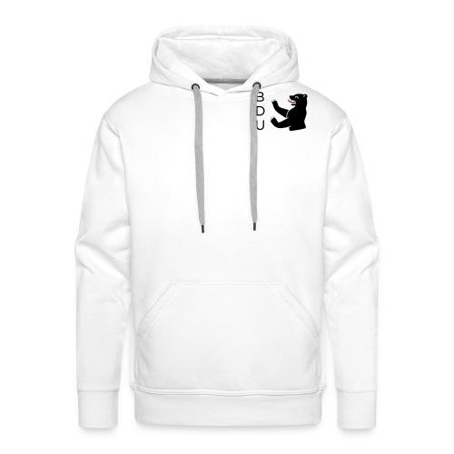 bdu_logo_2013 (quadratisc - Männer Premium Hoodie