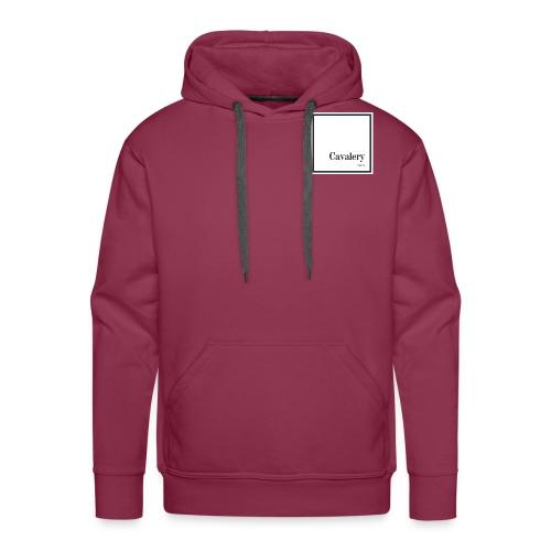 Cavalery - Sweat-shirt à capuche Premium pour hommes