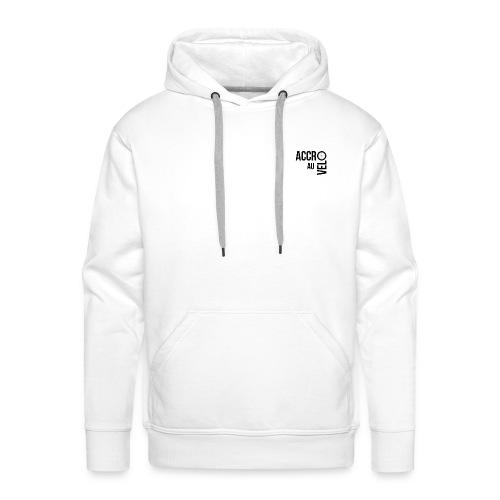New logo accro au velo PNG - Sweat-shirt à capuche Premium pour hommes