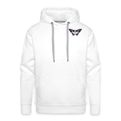 butterfly effect - Mannen Premium hoodie