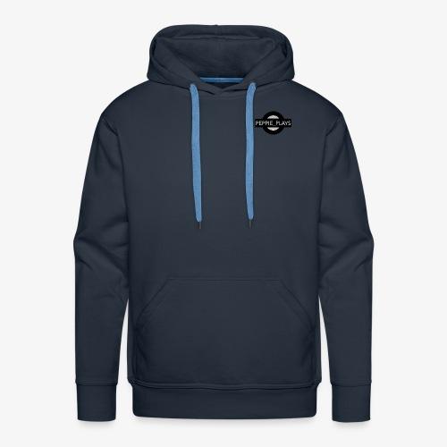 Peppie Plays Logo - Mannen Premium hoodie