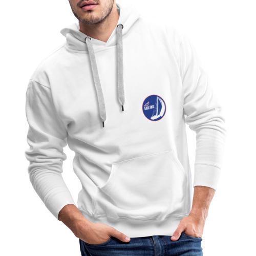 T shirt sailing - Felpa con cappuccio premium da uomo