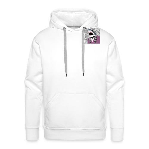 Swoof Dab Logo - Men's Premium Hoodie