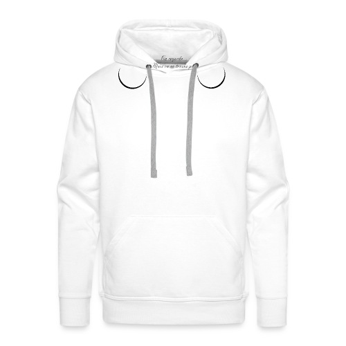 On ne touche pas - Sweat-shirt à capuche Premium pour hommes