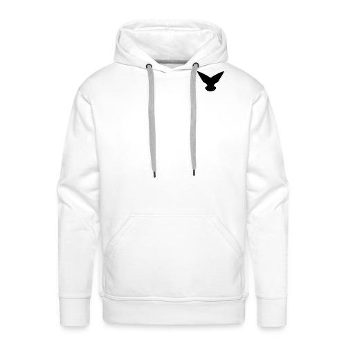 Logo black - Mannen Premium hoodie