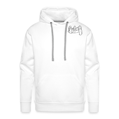 Dead Inside Reapers (WHITE) - Mannen Premium hoodie