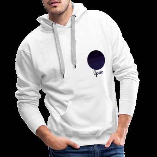 Space View - Sweat-shirt à capuche Premium pour hommes