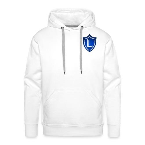 logo skjold - Herre Premium hættetrøje