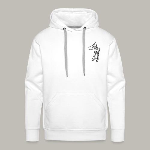 Little piece of liberté - Sweat-shirt à capuche Premium pour hommes