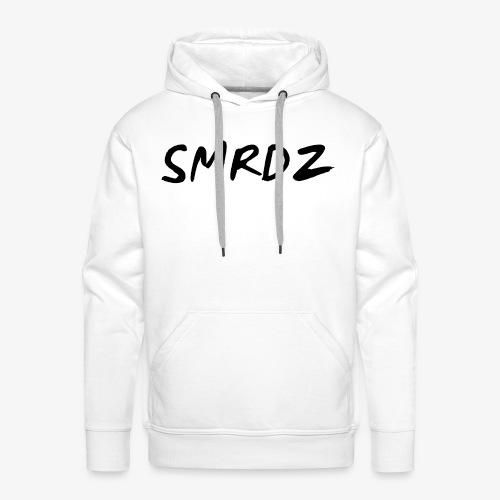 SMRDZ Black Logo - Premium hettegenser for menn