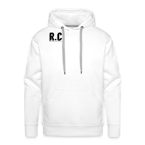 rich crew zwart 2 jpg - Mannen Premium hoodie
