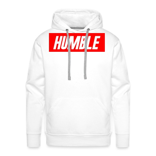 RED Humble Logo - Men's Premium Hoodie